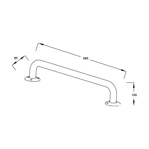 iCare-600mm-Steel-Grab-Rail-spec